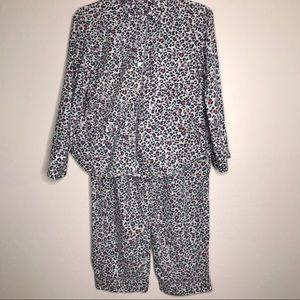 Victoria's Secret Animal Print Pajamas